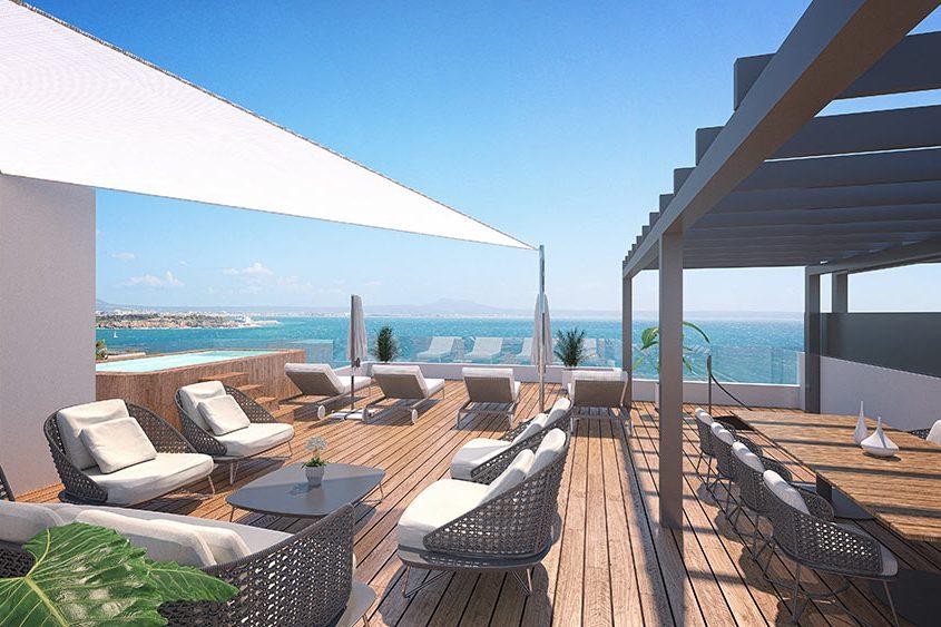 ÁTICOS PRÍNCIPE Proyectos Arquitecto Mallorca